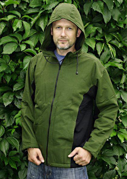 Kanvasová bunda s flísovou podšívkou velikost L NT0014 004
