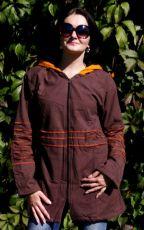 Kanvasový kabátek s fleesovou podšívkou  velikost  L