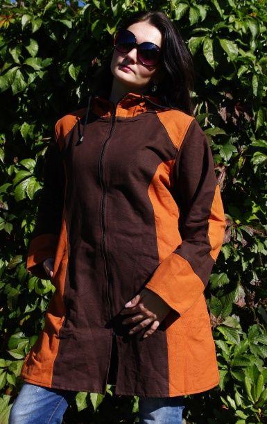 Kanvasový kabátek s fleesovou podšívkou velikost XL