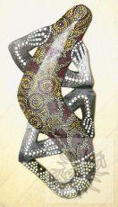 Závěsná dekorace Ještěrka 35 cm