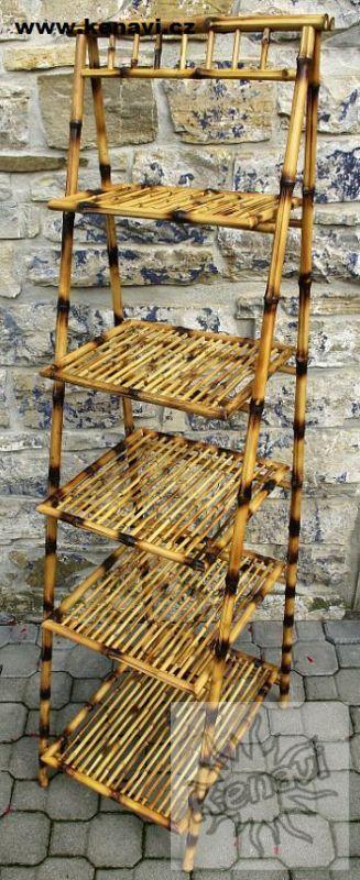 Bambusová police 5 pater IN0006 001