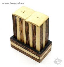 Dekorační kořenky - mozaika ze dřeva a resinu