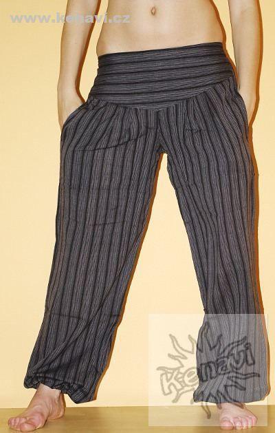 Letní bavlněné kalhoty ALI z Nepálu NT0096 01 00