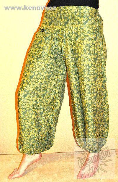 Kalhoty turecké HMONG