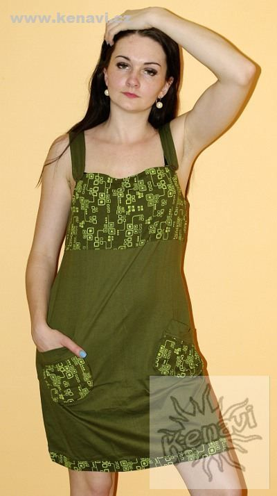 c635601c3b1a Šaty ELATE 100 % bavlna - vhodné pro těhotné a kojící ženy