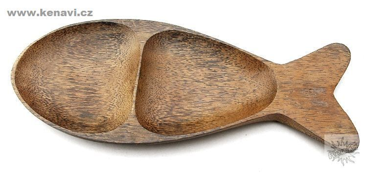 Tác (talíř) z kokosového dřeva