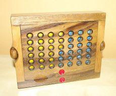 Dřevěná hra Piškvorky (Bingo)
