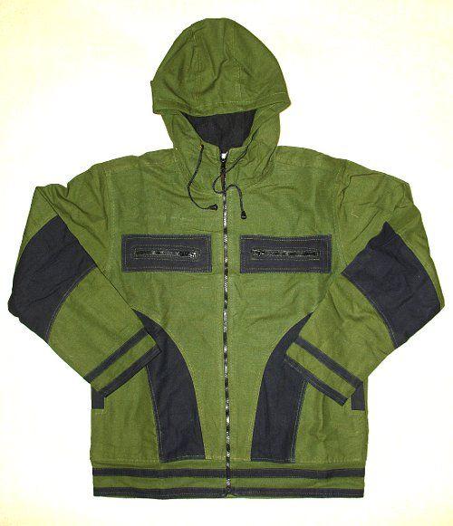 Kanvasová bunda s flísovou podšívkou velikost L NT0014 022
