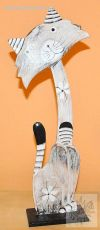 soška KOČKA 40 cm