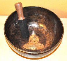 Tibetská mísa s paličkou