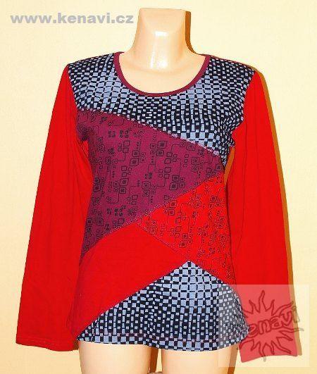 Tričko SEVILLA bavlna 100 %, manufakturní potisk
