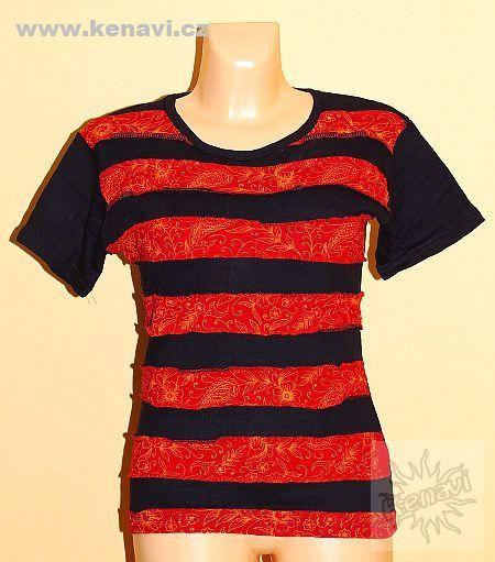 Designové tričko s krátkým rukávem SEWY 1 NT0100 02 016 KENAVI