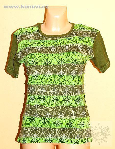 Designové tričko s krátkým rukávem SEWY 1 NT0100 02 019, Nepál KENAVI