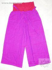 Kalhoty COMFORT 100% bavlna, lycrový pas