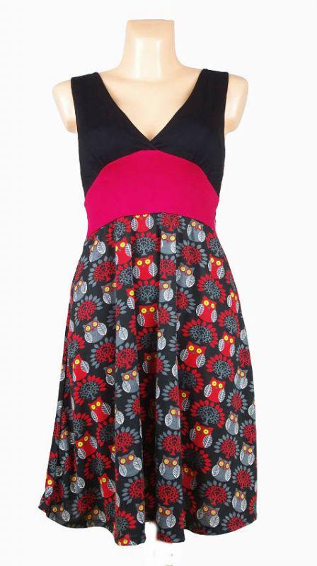 Letní šaty (šatová tunika) z pružného materiálu TT0024 0 036