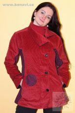 Manchesterový kabátek BOULLEVARD s kavasovými potisky M