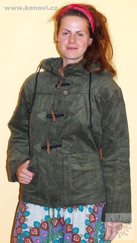 Manchesterový kabátek/bunda FREELIFE NT0014 05 003