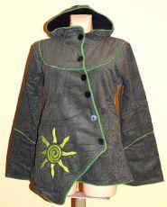 Manchesterový kabátek s možností nastavení délky rukávů