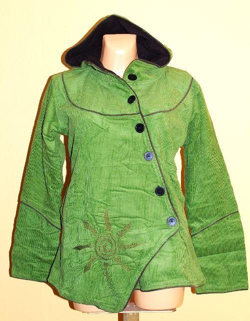 Manchesterový kabátek s možností nastavení délky rukávů NT0014 04 007 KENAVI