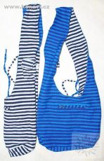 Taška přes rameno oboustranná MONK - BTC bavlna