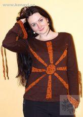 Tričko SUN 100% bavlna, manufakturní potisk