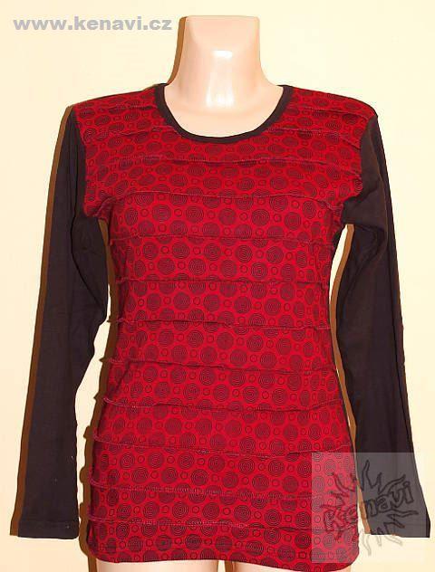 Designové tričko s dlouhým rukávem SEWY 1 NT0100 03 029 KENAVI