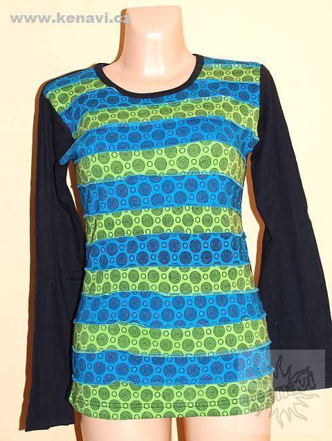 Designové tričko s dlouhým rukávem SEWY 1 NT0100 03 031 KENAVI