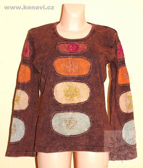 Designové tričko s dlouhým rukávem SEWY 2 NT0100 03 034