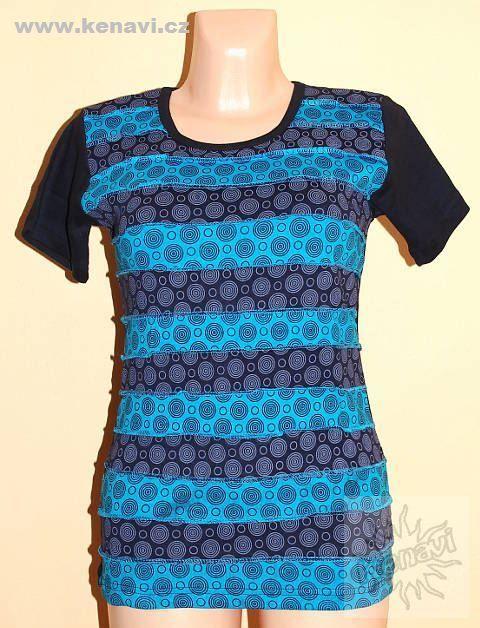 Designové tričko s krátkým rukávem SEWY 1 NT0100 02 034, Nepál KENAVI