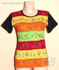 Designové tričko s krátkým rukávem SEWY 1