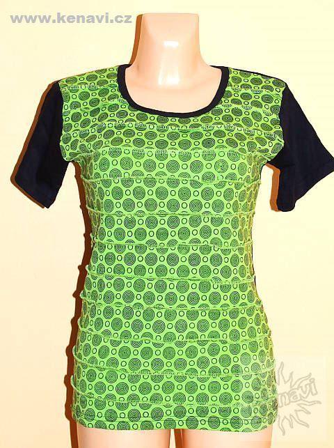 Designové tričko s krátkým rukávem SEWY 1 NT0100 02 037, Nepál KENAVI