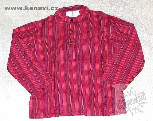 Dětská košile - kurta uni cca 5 - 6 let NT0127 01 003
