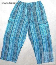 Dětské kalhoty rovné uni cca 7 - 8 let
