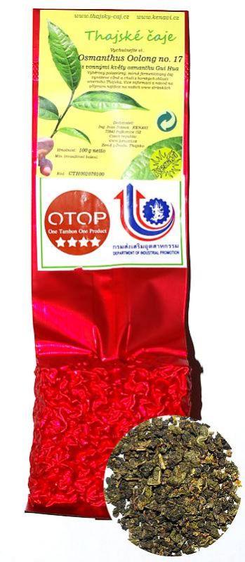 Gui Hua Osmanthus Oolong Tea - 100g balení vacuum