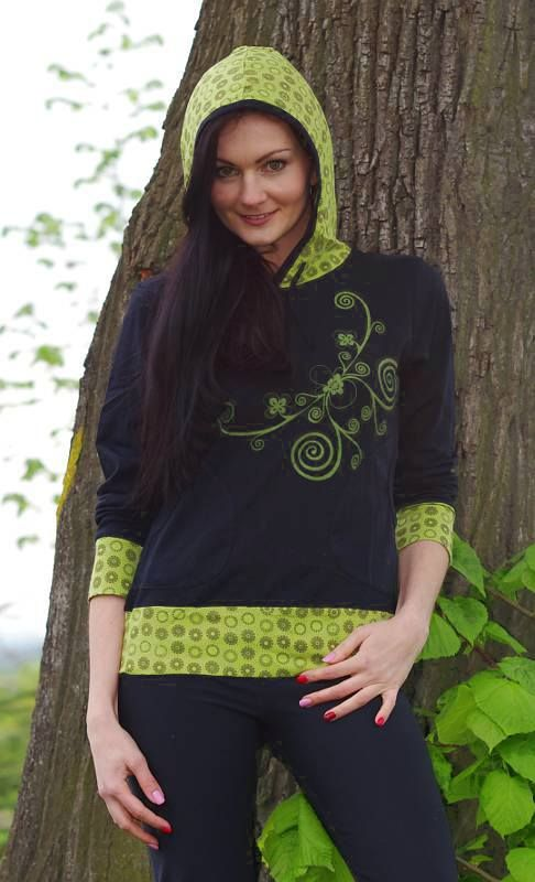 Lehká hoodie mikina NEOTICA Nepál