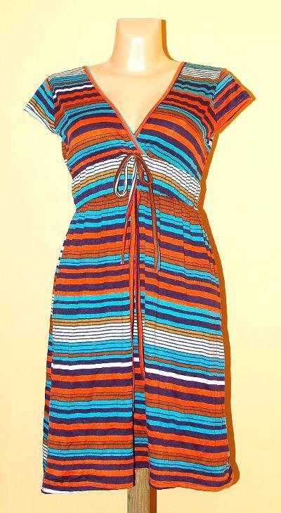Pružné šaty potisk TT0024 01 045 KENAVI