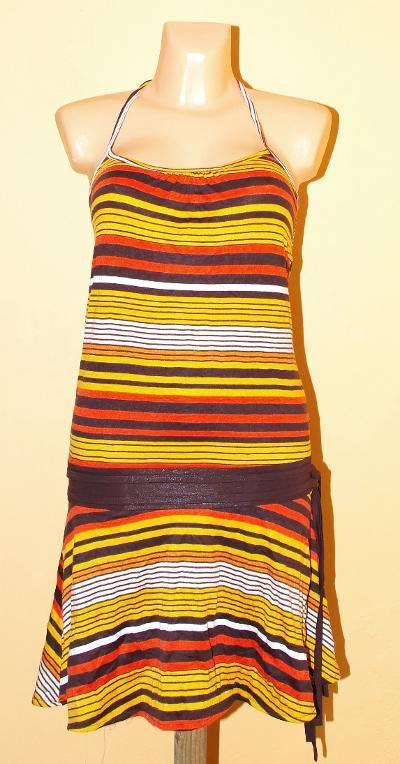 Pružné šaty s potiskem TT0024 01 049 KENAVI