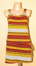Pružné šaty s potiskem