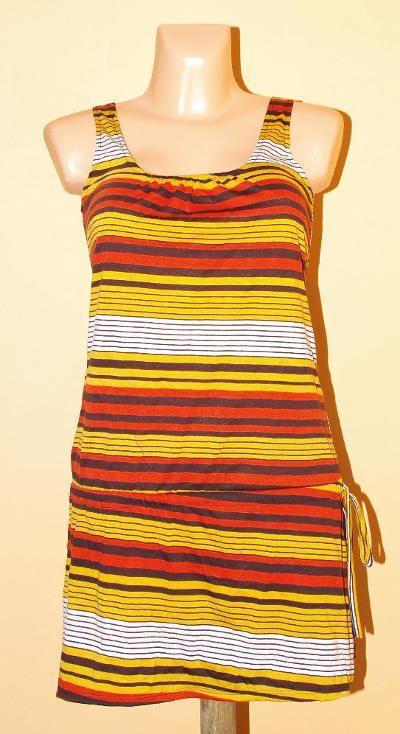 Pružné šaty s potiskem TT0024 01 047 KENAVI