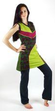 Dámské šaty  Nepálu RATHANA, 100% bavlna