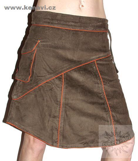 Sukně MADEIRA mod. 02 bavlna vel. M manchester