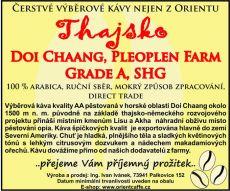 Arabica Doi Chaang, Pleoplen Farm, Grade A, SHG 250 g TK0002 01 001