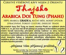 Arabica Doi Tung (Phahi) grade A 1000g TK0001 01 003