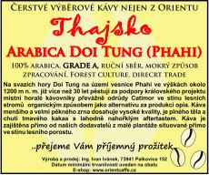 Arabica Doi Tung (Phahi) grade A 250g TK0001 01 001