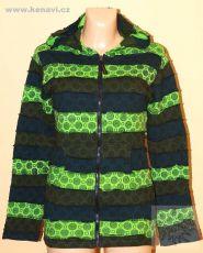 Dámská bavlněná mikina sešívaná s potiskem M, L, XL