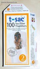 Filtry (luhovací sáčky) pro sypané čaje T-Sac velikost 2