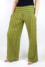 Kalhoty ALI, bavlna Nepál (dole ztahovací nohavice)