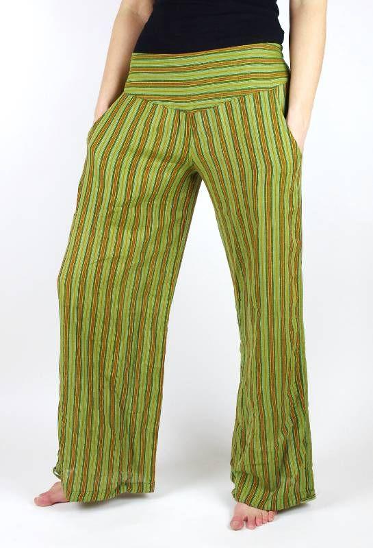 Kalhoty ALI, bavlna Nepál (dole ztahovací nohavice) NT0096 01 021 KENAVI
