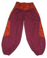 Dámské kalhoty ALINA, bavlna Nepál