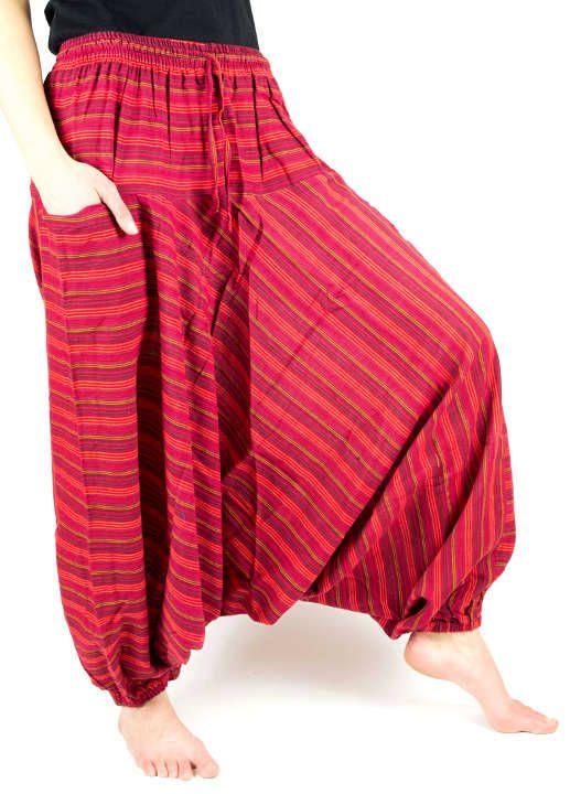 Kalhoty turecké GOLD, bavlna Nepál NT0096 03 008